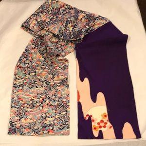 Accessories - Vintage Japanese kimono silk scarf